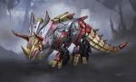 1319225463_Transformers Fall of Cybertron - Concept Art_Slug Dinobot Final